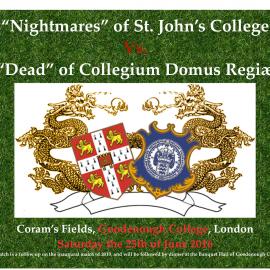 St. John&#8217;s College vs. Collegium Domus Regiæ<br>25. juni 2016